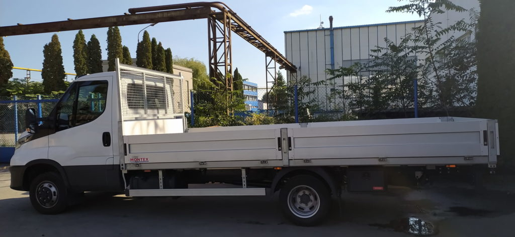 Koupili jsme nové nákladní auto – valník do 3,5 t
